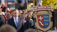 Prezydent Andrzej Duda na 100. rocznicy odzyskania niepodległości w Kolbuszowej_26