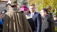 Prezydent Andrzej Duda na 100. rocznicy odzyskania niepodległości w Kolbuszowej_31