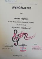 Sukcesy muzyczne uczniów ZST w roku szkolnym 2018/2019
